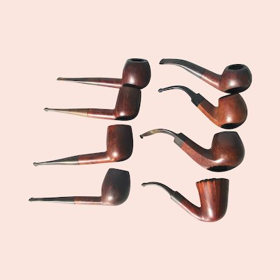 Estate Collection Briar Pipes