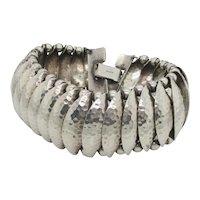 Vintage 1940s' Napier Sterling Silver Bracelet