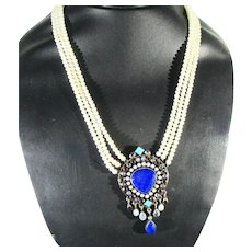 Raj Collection Nicky Butler Indian Necklace