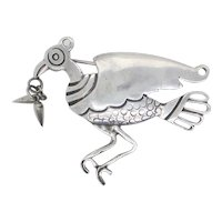 William Spratling Condor Pin