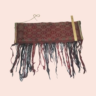 Ethnic Horse Trappings Wool Blanket