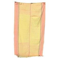 Vintage Kenyan Kikoi Cotton Wrap Textile