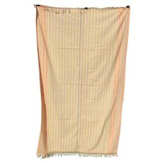 Vintage African Kikoi Woven Textile