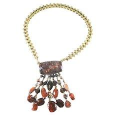 Stephen Dweck Jewelry Bronze Necklace