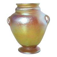 LCT Favrile Vase 9905 B  Tiffany Glass Vase