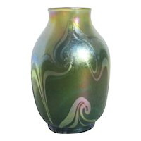 LCT Favrile Art Glass Vase Q5765