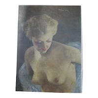 Pal Fried  Oil on Canvas Female Nude  1950s'
