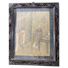 Chinese Drawing Watercolor Antique