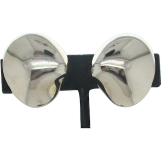 Von Musulin Sterling Silver Clip-on Earrings