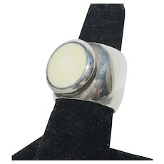 Sterling Silver Ring Vintage 1980s'