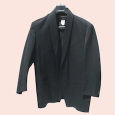 Issey Miyake  Mens Tuxedo Coat  Vintage 1980s'
