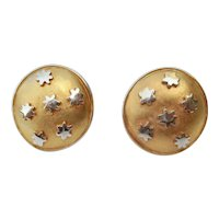 Gilt Disks With Stars by Museum of Modern Art 1993