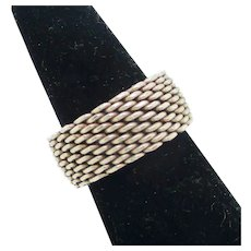 Tiffany Chain Link Ring Somerset style