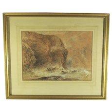 George Haydock Dodgson Watercolor  Dated 1874