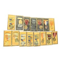 American Marksman Medals in Box Vintage 60s' and 70s'