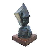 Jean Mahie Abstract Bronze