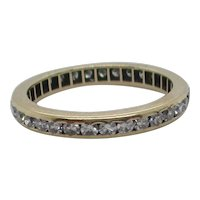 14 kt. Eternity Band Ring
