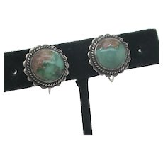 Native American Southwest Turquoise Earrings