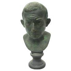 Grand Tour Bronze of Noble Roman