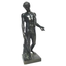 Grand Tour  Full Figure Bronze  Capitoline 'Antinous'