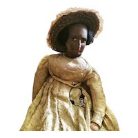 African American Society Fashion Doll Circa 1890