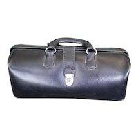 Leather Doctor's Bag Circa 1960