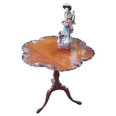 Charak Furniture Company Colonial Georgian style / piecrust tilt top