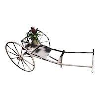 Vintage Wooden Goat Cart
