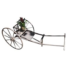 Vintage Wooden Goat Cart