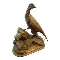 Jules Moigniez Gilded Bronze Pheasant