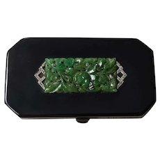 Jadeite Platinum Diamond Silver Vanity