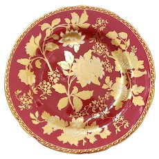 """Wedgewood Tonquin Ruby 8.25"""" Salad Plate"""