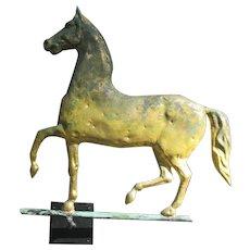 Prancing Hambletonian Horse Weathervane
