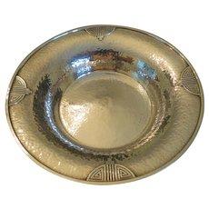 Art-Deco sterling silver bowl