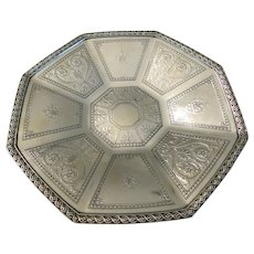 TIFFANY & CO.: Lovely early  20th century sterling silver bon bon dish