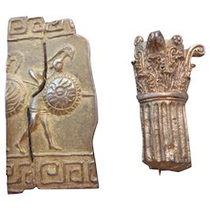 Ancient GREEK subjects pins/brooch reproductions