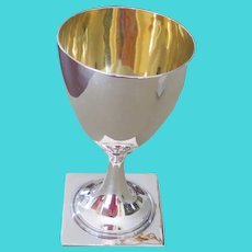 ANTIQUE (1798) Sterling Silver large wine cup