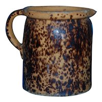 French  Yellowware xlg Pitcher