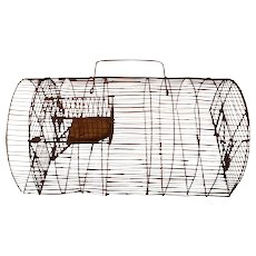 Wire French Mousetrap ~ Humane