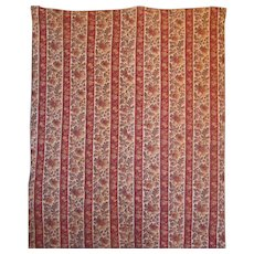 French Quilt ~ Fab Provencal Fabric ~ Pique ~ Boutis