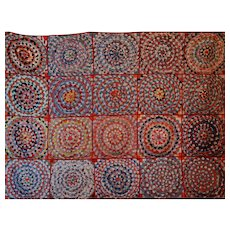 Pine Burr Quilt ~ RARE ~ Possibly African American