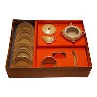 Doll Dishes ~ Unused in Original Box ~ Vintage Lustreware