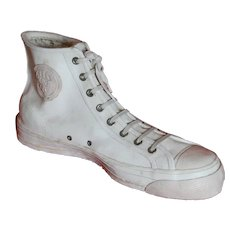 GIANT Plaster Ked's Sneaker ~ Advertising ~ Sports Fan Decor