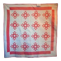 PAIR Matching Pink ~ Twin or Double Quilts