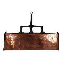 French Copper Primitive Lèchefrite Pan c1780 ~ Fireplace Cooking