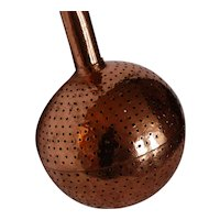 Winemaker Tool French Copper Aerator Crépine ~ Antique Vintner