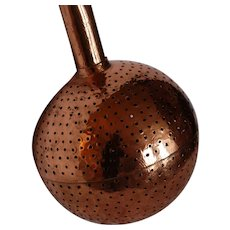 Winemaker Tool French Copper Aerator Crépine ~ Antique Vintner