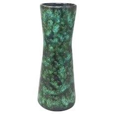 1970s Amazing Green Vintage Original Scheurich Vase 206-27