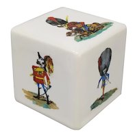 Astonishing Fornasetti Ceramic Paperweight by Piero Fornasetti 1950s