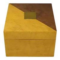 1970s Vintage Astonishing Birdeye Maple Box